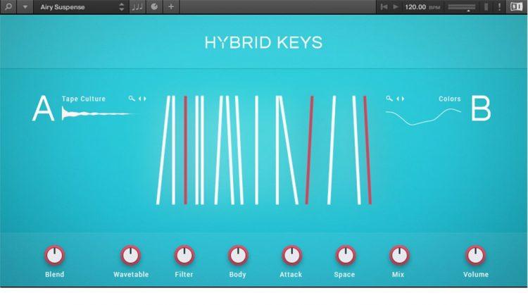 Kontakt 6 - Hybrid Keys